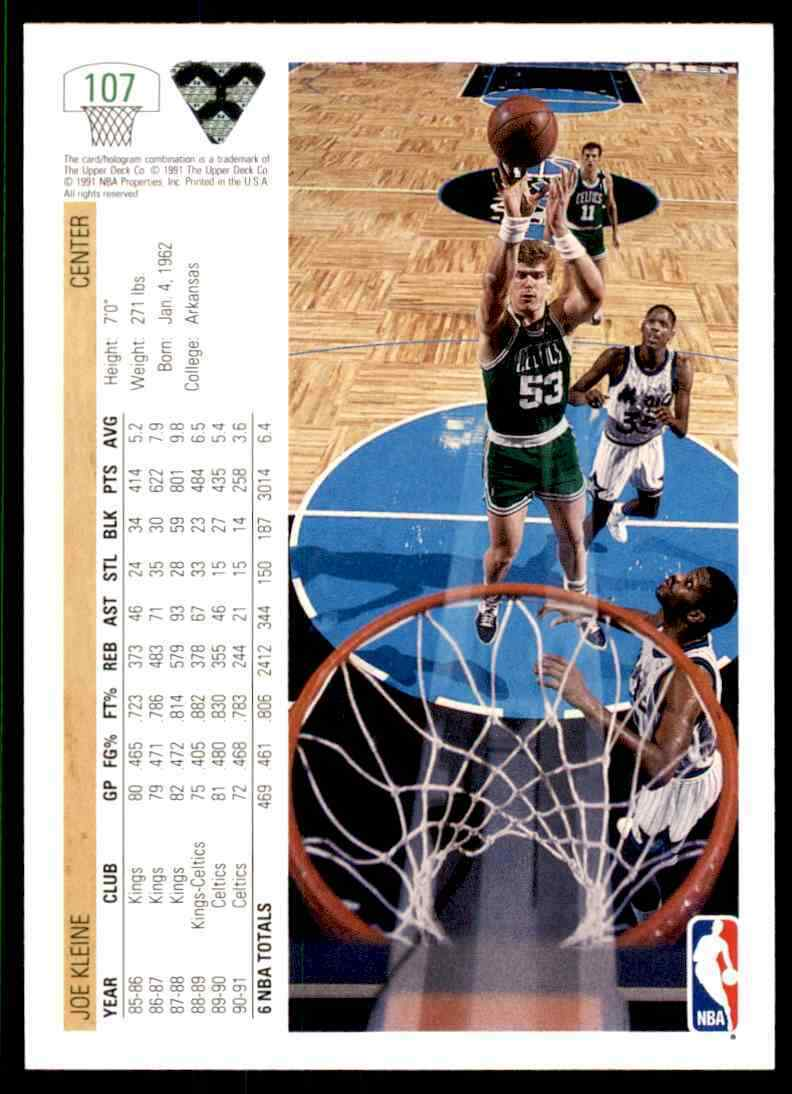 thumbnail 234 - 1991-92 Upper Deck Basketball NBA Choose Your Player -Real Pics Rookie Star (B)