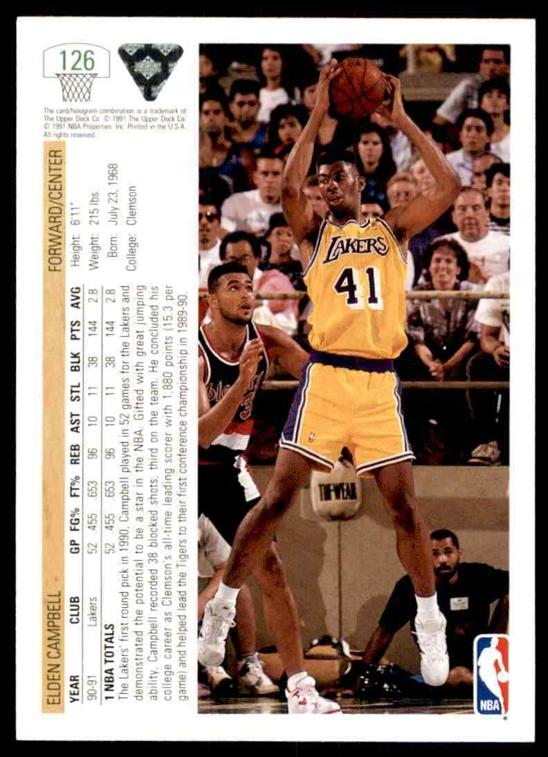 thumbnail 174 - 1991-92 Upper Deck Basketball NBA Choose Your Player -Real Pics Rookie Star (B)