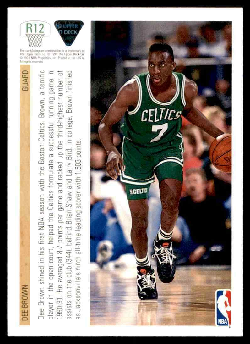 thumbnail 140 - 1991-92 Upper Deck Basketball NBA Choose Your Player -Real Pics Rookie Star (B)