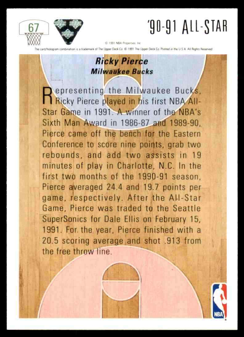 thumbnail 390 - 1991-92 Upper Deck Basketball NBA Choose Your Player -Real Pics Rookie Star (B)