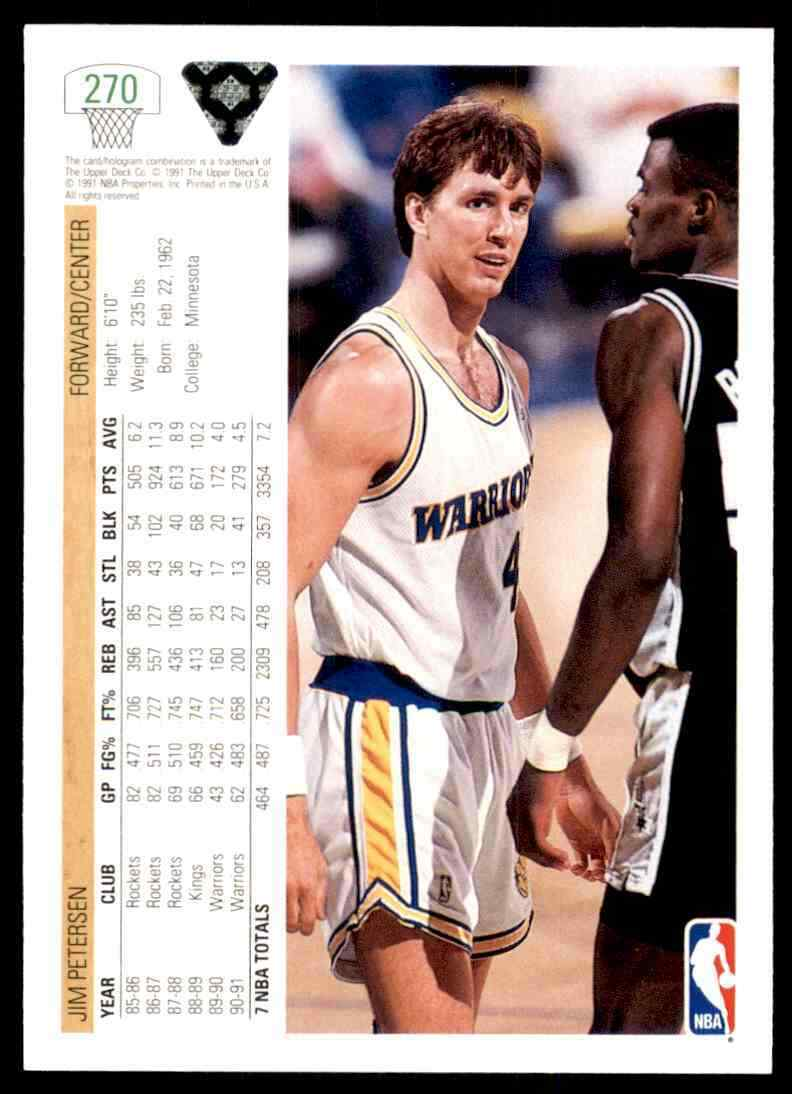 thumbnail 360 - 1991-92 Upper Deck Basketball NBA Choose Your Player -Real Pics Rookie Star (B)