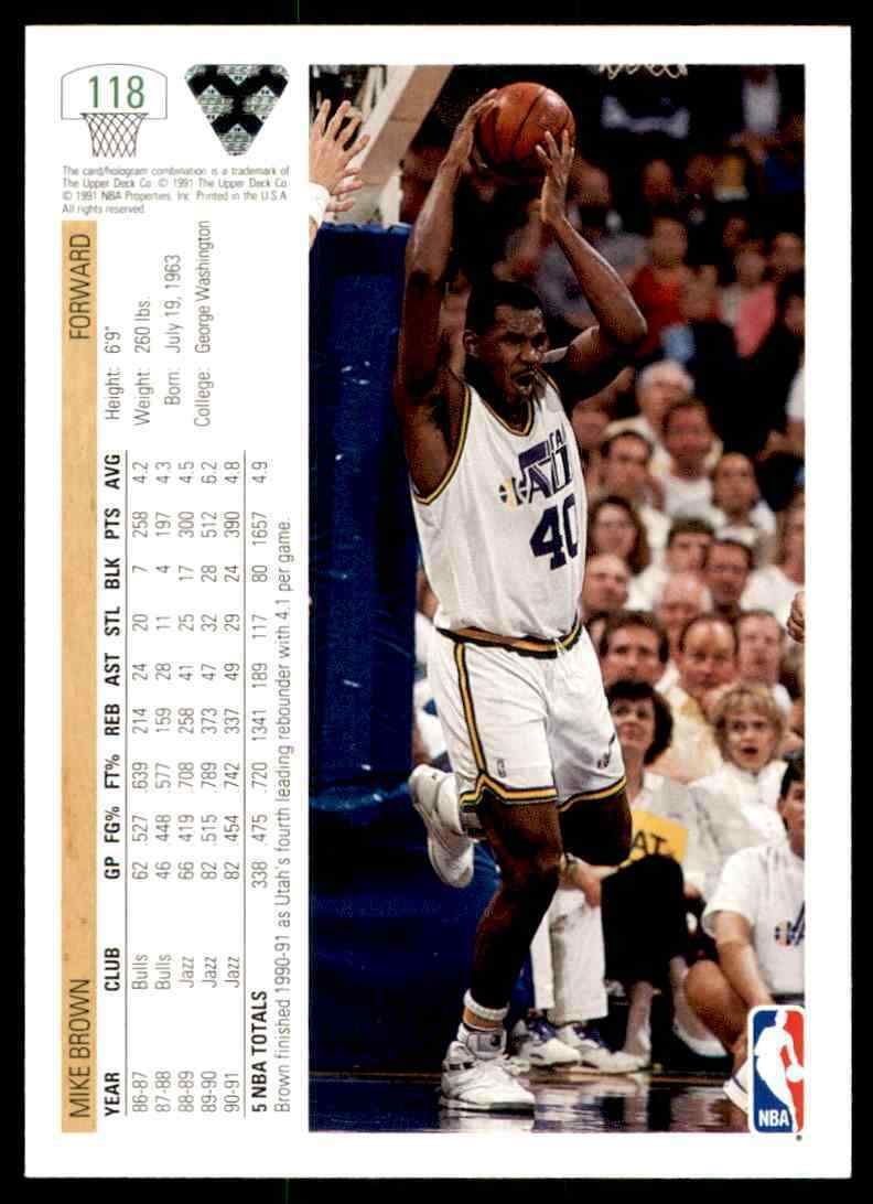 thumbnail 346 - 1991-92 Upper Deck Basketball NBA Choose Your Player -Real Pics Rookie Star (B)