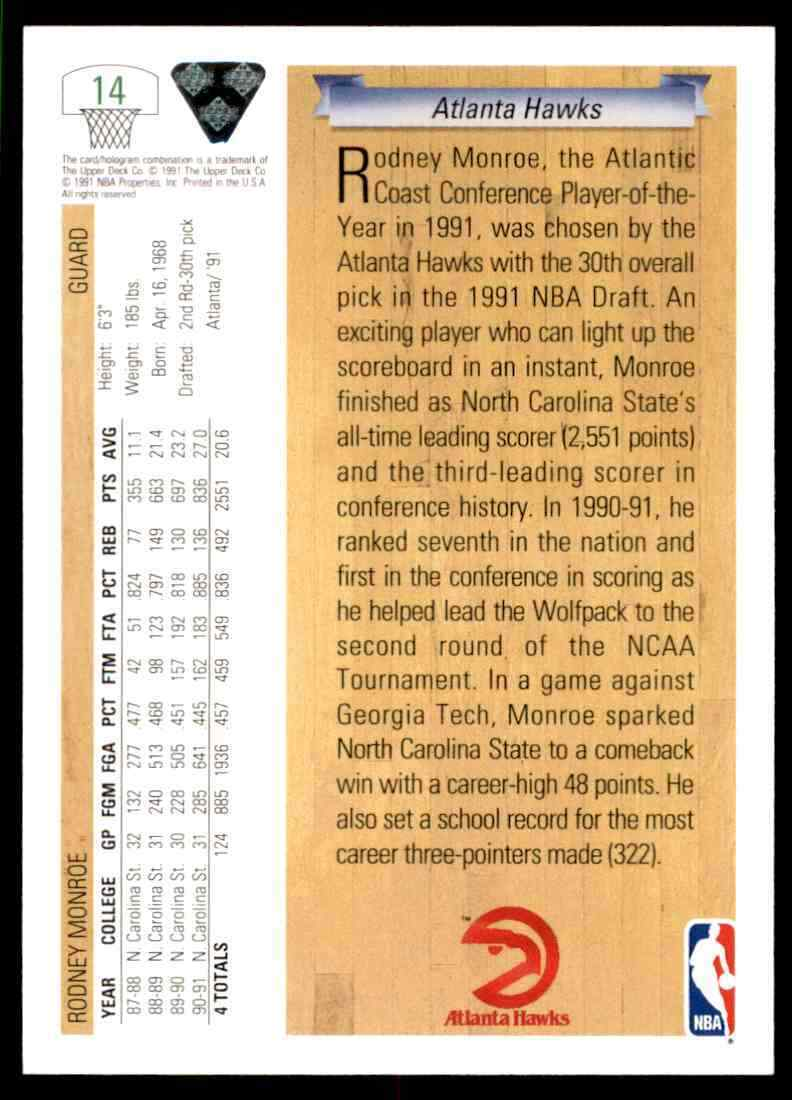 thumbnail 402 - 1991-92 Upper Deck Basketball NBA Choose Your Player -Real Pics Rookie Star (B)