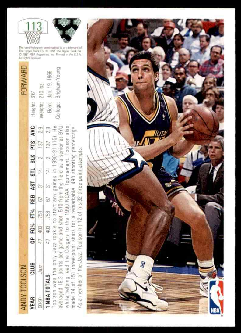 thumbnail 20 - 1991-92 Upper Deck Basketball NBA Choose Your Player -Real Pics Rookie Star (B)