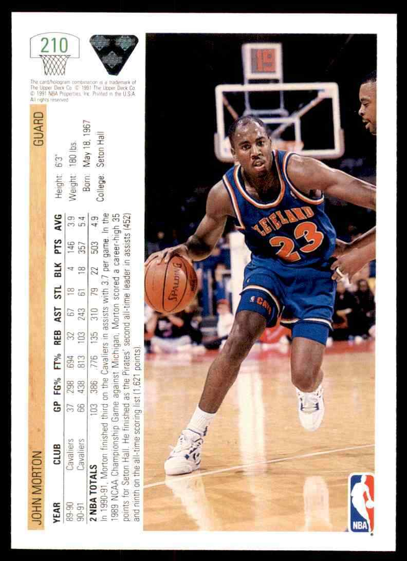 thumbnail 248 - 1991-92 Upper Deck Basketball NBA Choose Your Player -Real Pics Rookie Star (B)