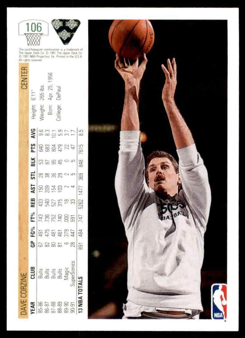 thumbnail 124 - 1991-92 Upper Deck Basketball NBA Choose Your Player -Real Pics Rookie Star (B)