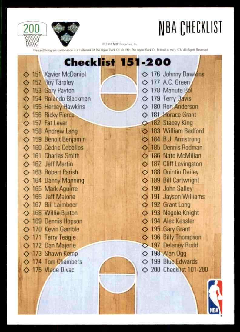 thumbnail 76 - 1991-92 Upper Deck Basketball NBA Choose Your Player -Real Pics Rookie Star (B)