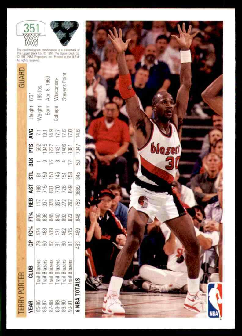 thumbnail 462 - 1991-92 Upper Deck Basketball NBA Choose Your Player -Real Pics Rookie Star (B)