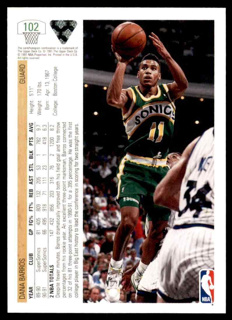 thumbnail 108 - 1991-92 Upper Deck Basketball NBA Choose Your Player -Real Pics Rookie Star (B)
