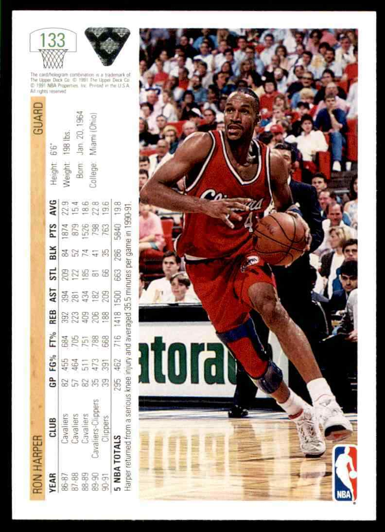 thumbnail 408 - 1991-92 Upper Deck Basketball NBA Choose Your Player -Real Pics Rookie Star (B)