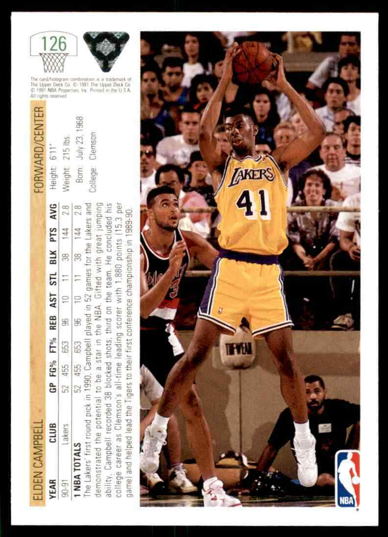 thumbnail 170 - 1991-92 Upper Deck Basketball NBA Choose Your Player -Real Pics Rookie Star (B)