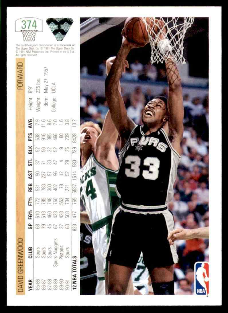 thumbnail 132 - 1991-92 Upper Deck Basketball NBA Choose Your Player -Real Pics Rookie Star (B)