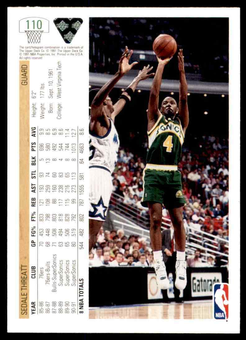 thumbnail 436 - 1991-92 Upper Deck Basketball NBA Choose Your Player -Real Pics Rookie Star (B)