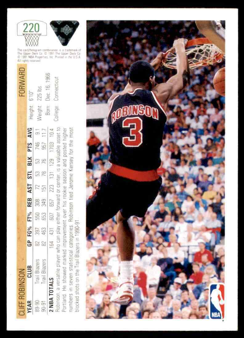thumbnail 96 - 1991-92 Upper Deck Basketball NBA Choose Your Player -Real Pics Rookie Star (B)
