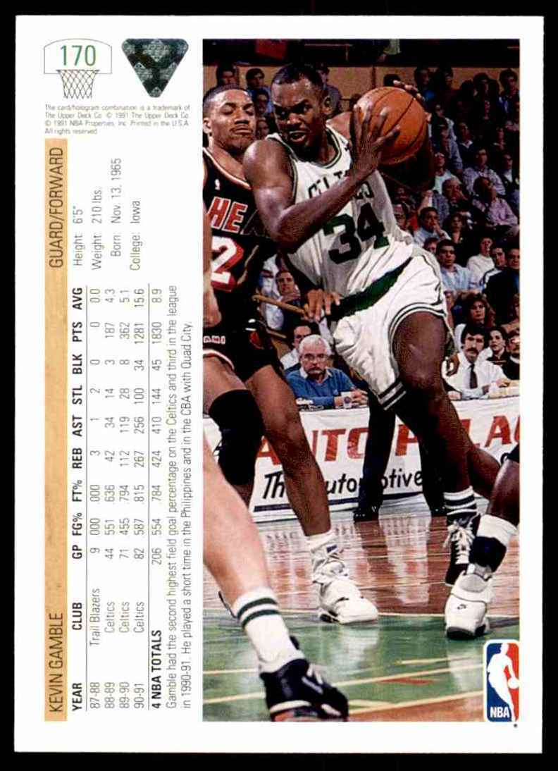 thumbnail 288 - 1991-92 Upper Deck Basketball NBA Choose Your Player -Real Pics Rookie Star (B)