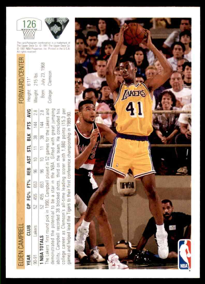 thumbnail 168 - 1991-92 Upper Deck Basketball NBA Choose Your Player -Real Pics Rookie Star (B)