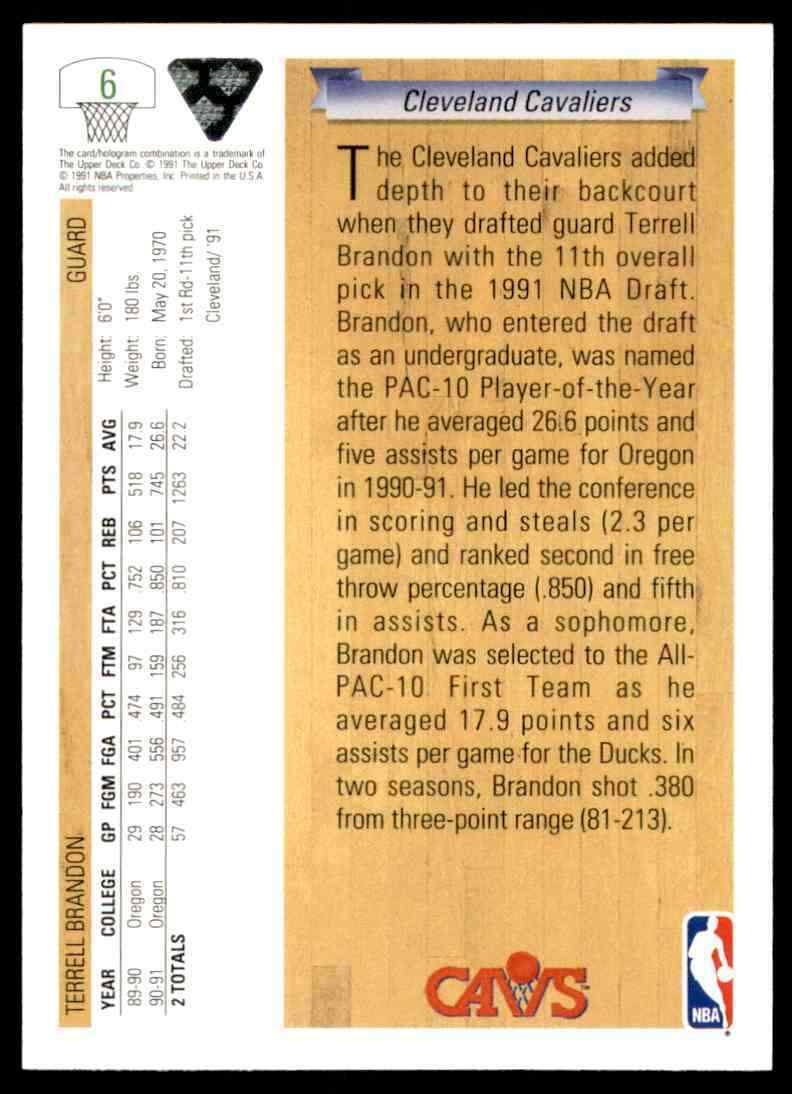 thumbnail 454 - 1991-92 Upper Deck Basketball NBA Choose Your Player -Real Pics Rookie Star (B)
