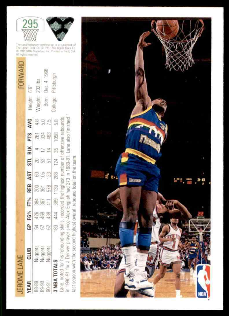 thumbnail 224 - 1991-92 Upper Deck Basketball NBA Choose Your Player -Real Pics Rookie Star (B)