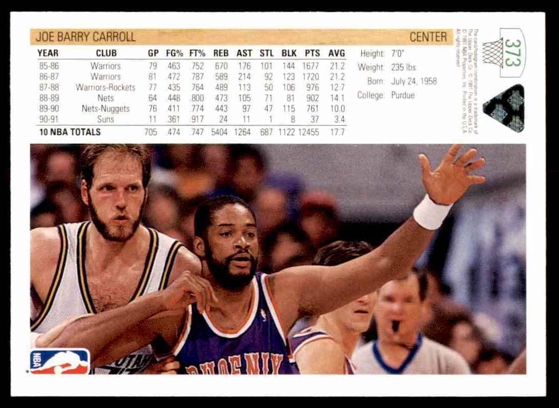 thumbnail 230 - 1991-92 Upper Deck Basketball NBA Choose Your Player -Real Pics Rookie Star (B)