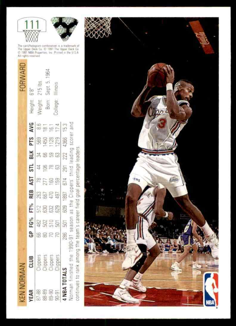 thumbnail 278 - 1991-92 Upper Deck Basketball NBA Choose Your Player -Real Pics Rookie Star (B)
