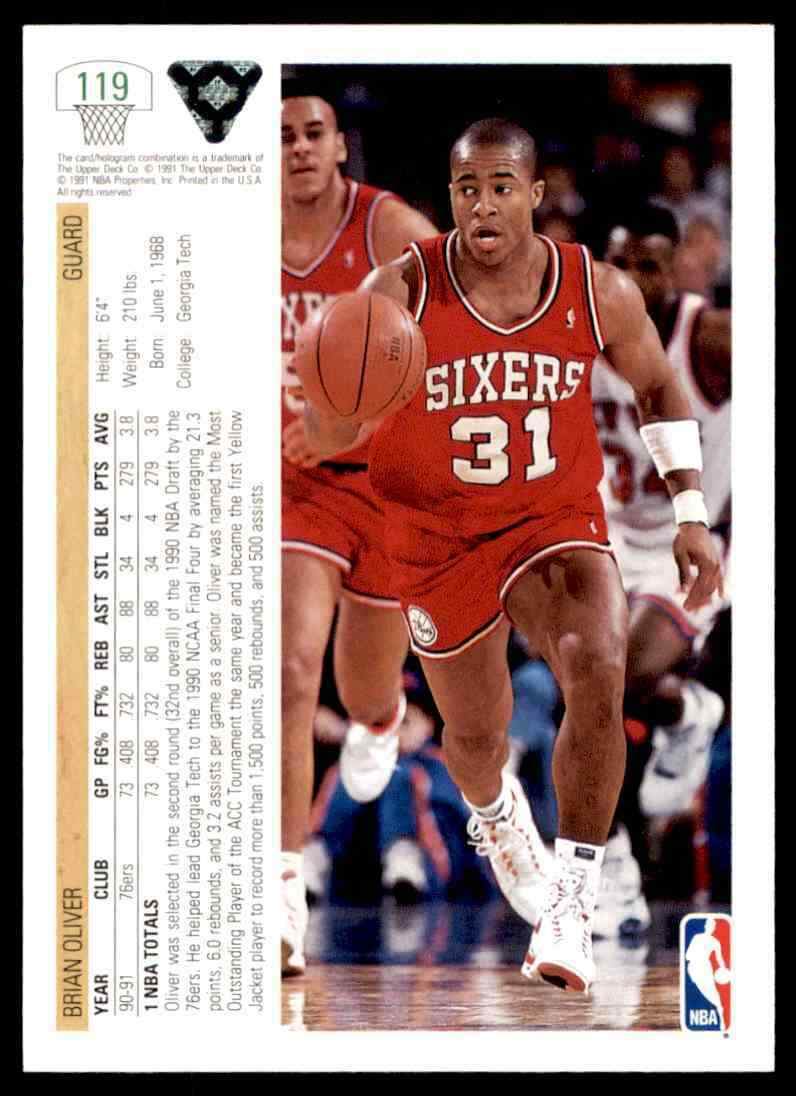 thumbnail 64 - 1991-92 Upper Deck Basketball NBA Choose Your Player -Real Pics Rookie Star (B)