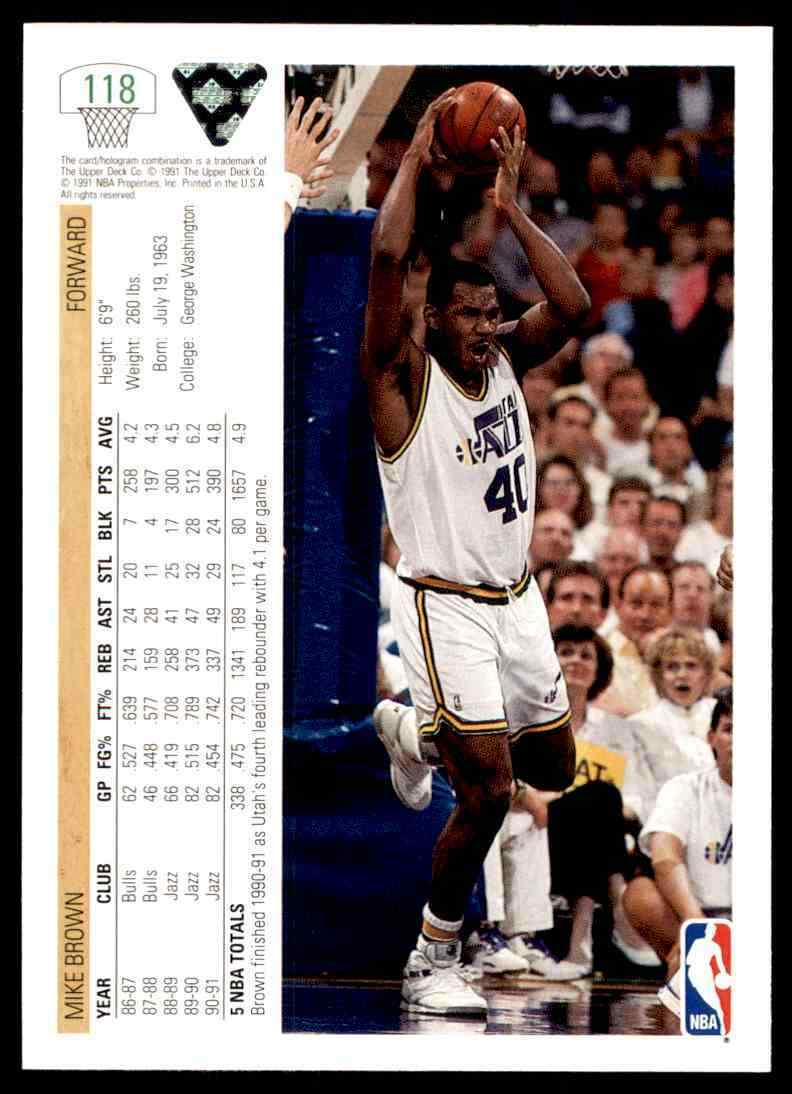 thumbnail 344 - 1991-92 Upper Deck Basketball NBA Choose Your Player -Real Pics Rookie Star (B)