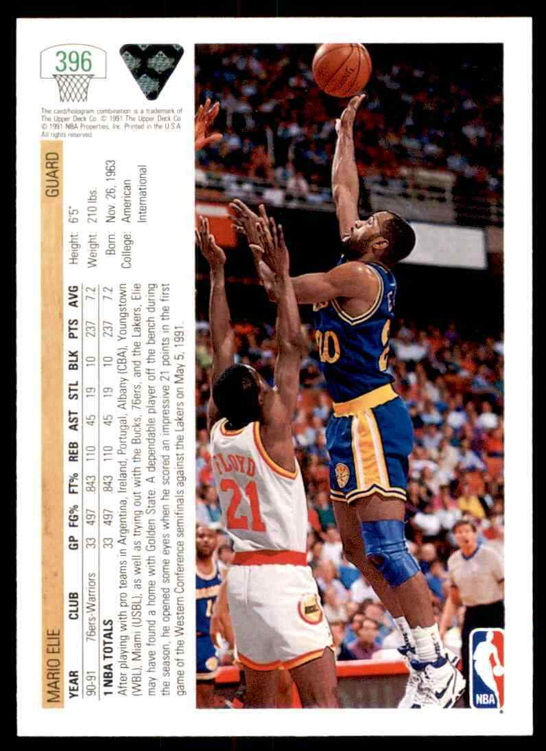 thumbnail 312 - 1991-92 Upper Deck Basketball NBA Choose Your Player -Real Pics Rookie Star (B)