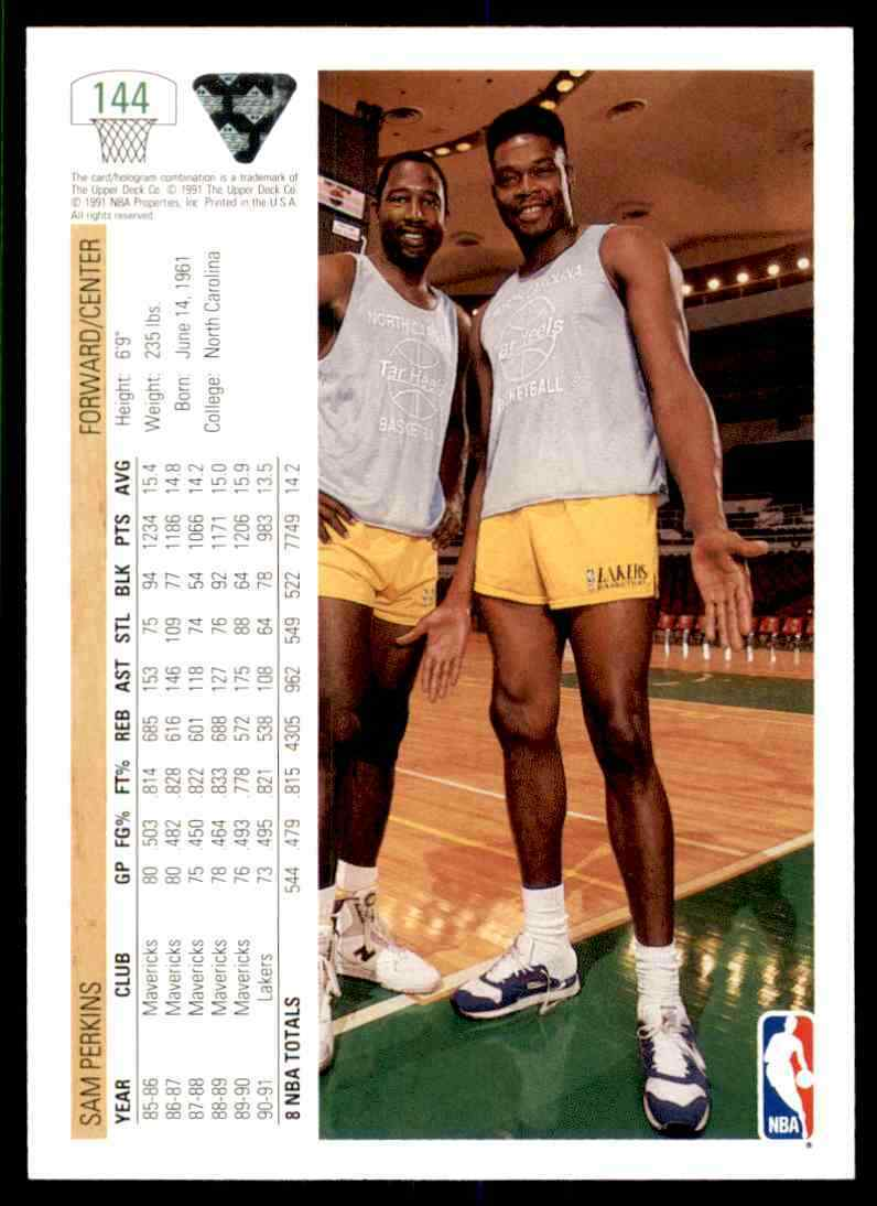 thumbnail 422 - 1991-92 Upper Deck Basketball NBA Choose Your Player -Real Pics Rookie Star (B)