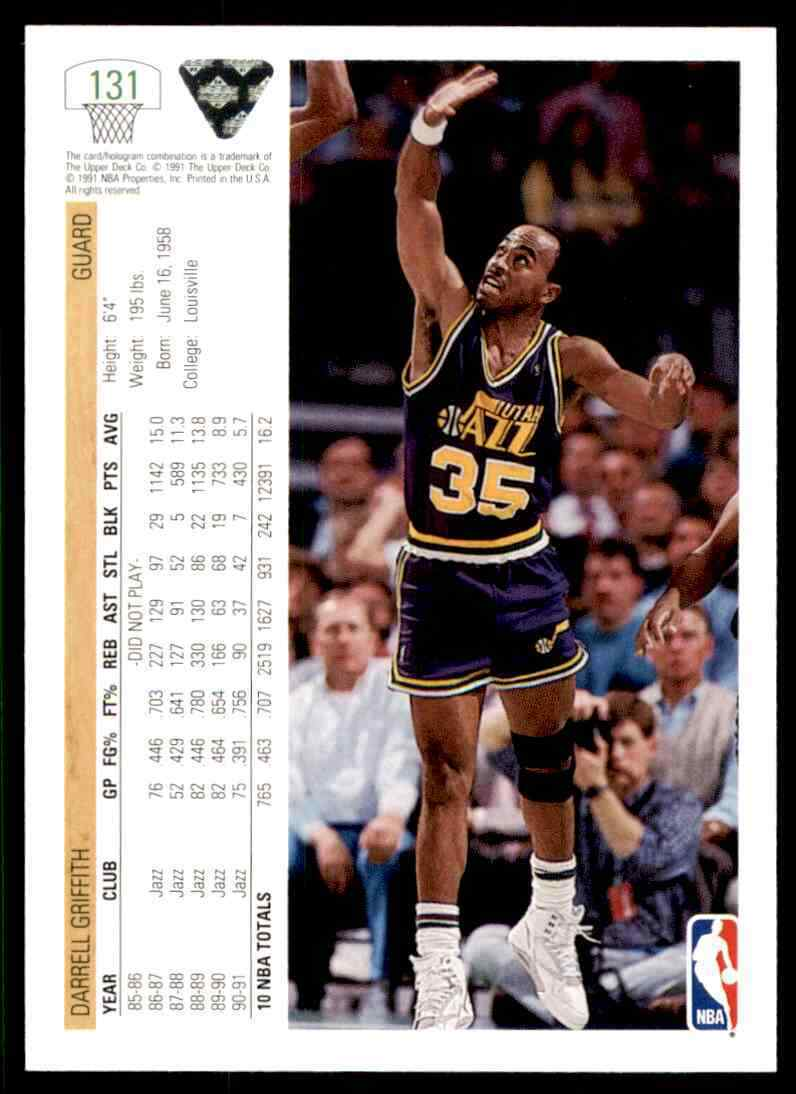 thumbnail 118 - 1991-92 Upper Deck Basketball NBA Choose Your Player -Real Pics Rookie Star (B)