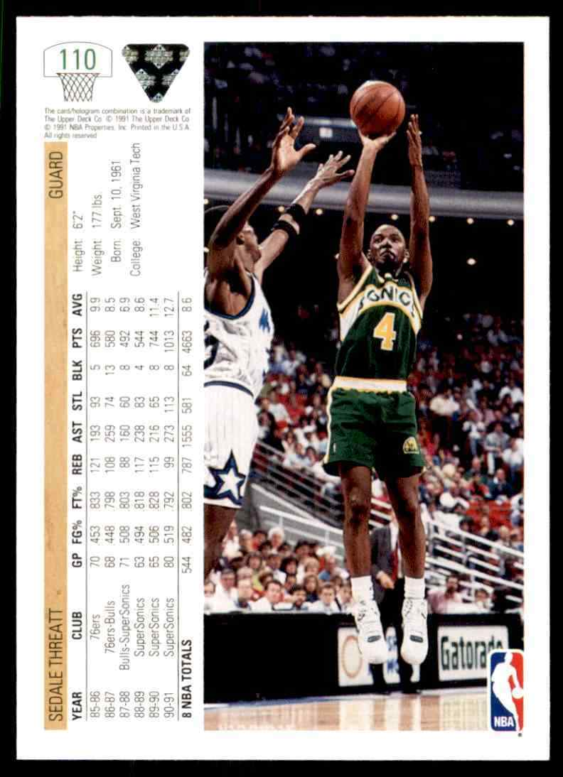 thumbnail 434 - 1991-92 Upper Deck Basketball NBA Choose Your Player -Real Pics Rookie Star (B)