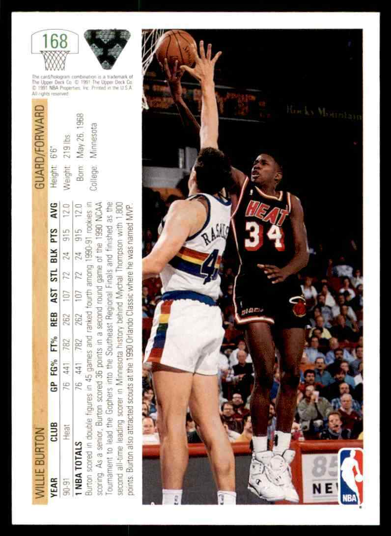 thumbnail 500 - 1991-92 Upper Deck Basketball NBA Choose Your Player -Real Pics Rookie Star (B)