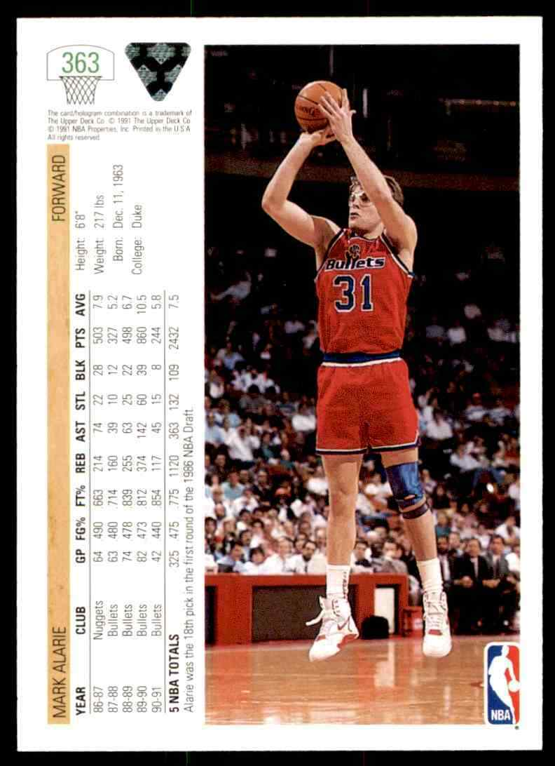 thumbnail 318 - 1991-92 Upper Deck Basketball NBA Choose Your Player -Real Pics Rookie Star (B)