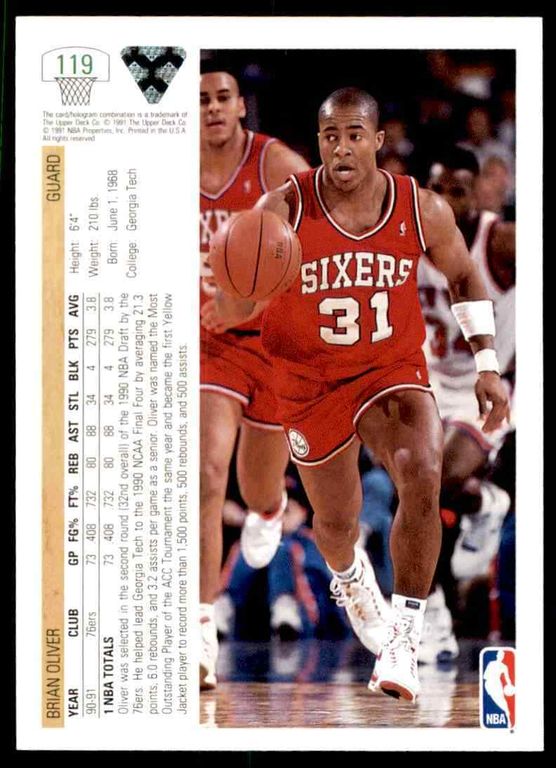 thumbnail 66 - 1991-92 Upper Deck Basketball NBA Choose Your Player -Real Pics Rookie Star (B)