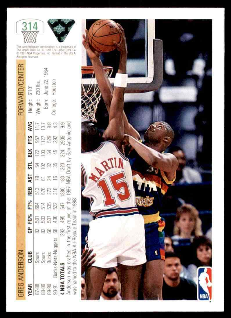 thumbnail 190 - 1991-92 Upper Deck Basketball NBA Choose Your Player -Real Pics Rookie Star (B)