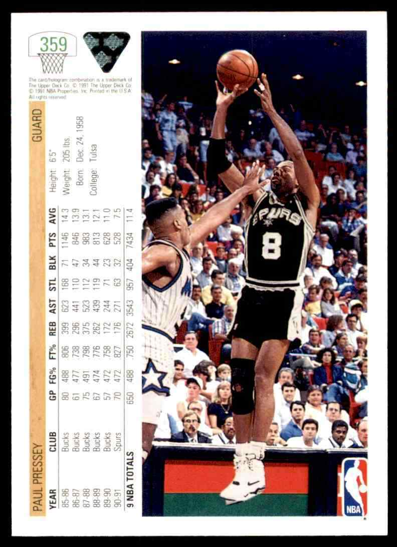 thumbnail 362 - 1991-92 Upper Deck Basketball NBA Choose Your Player -Real Pics Rookie Star (B)