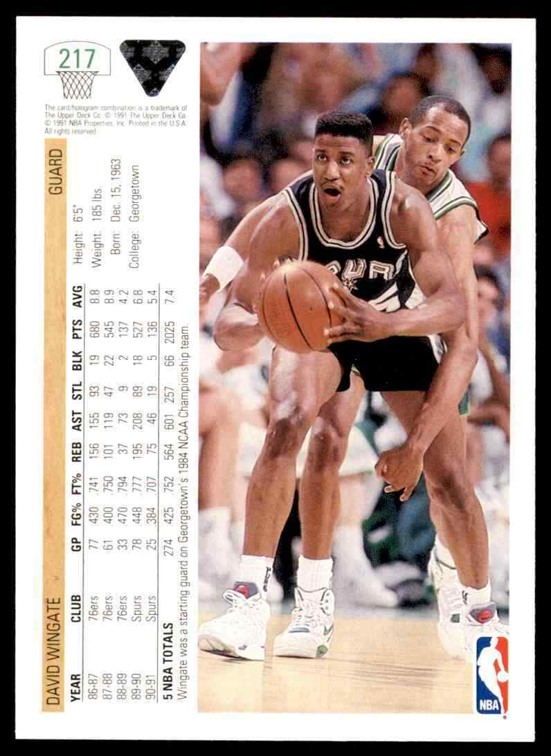 thumbnail 134 - 1991-92 Upper Deck Basketball NBA Choose Your Player -Real Pics Rookie Star (B)