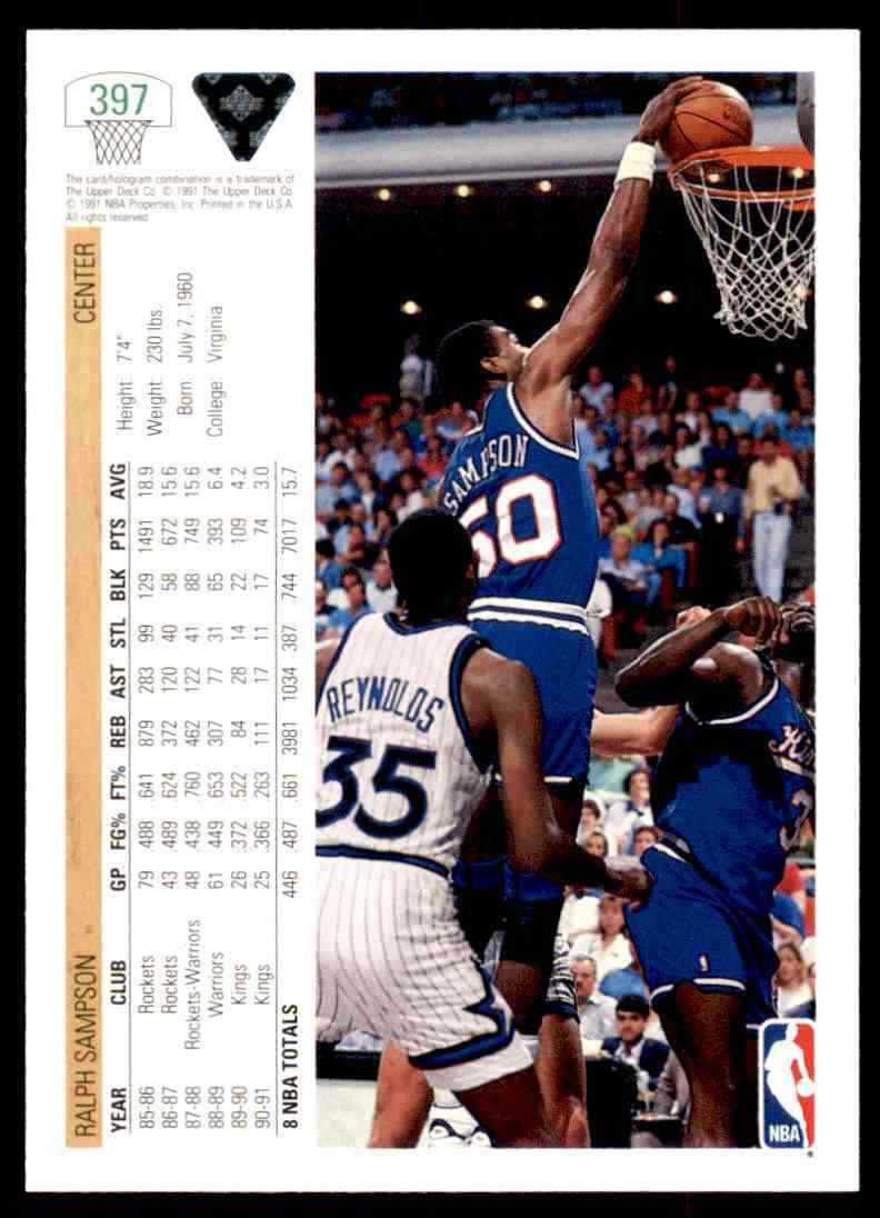 thumbnail 372 - 1991-92 Upper Deck Basketball NBA Choose Your Player -Real Pics Rookie Star (B)