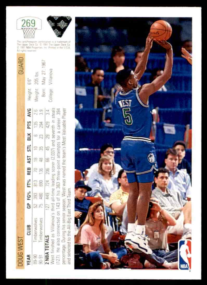 thumbnail 158 - 1991-92 Upper Deck Basketball NBA Choose Your Player -Real Pics Rookie Star (B)