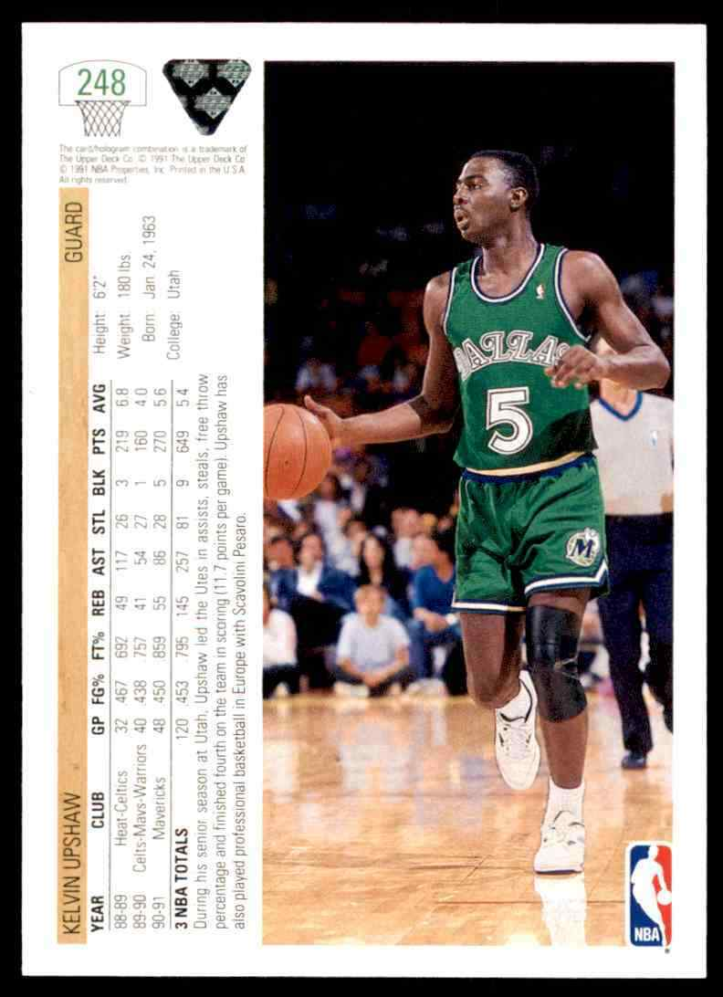 thumbnail 274 - 1991-92 Upper Deck Basketball NBA Choose Your Player -Real Pics Rookie Star (B)
