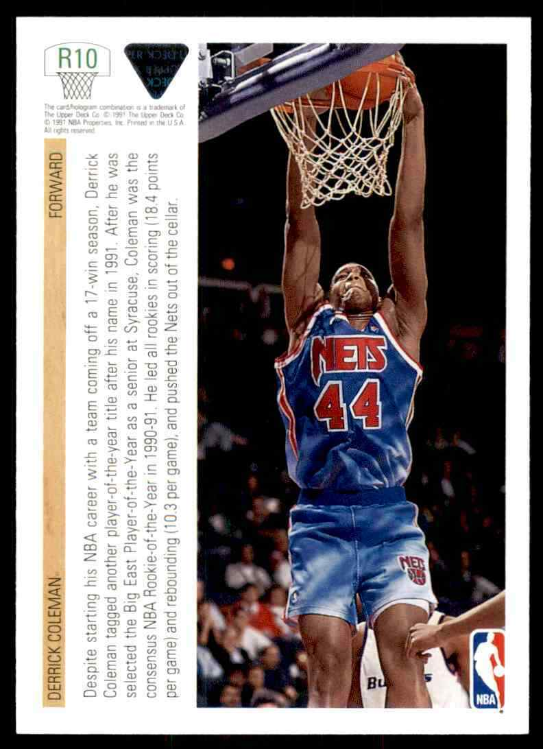 thumbnail 148 - 1991-92 Upper Deck Basketball NBA Choose Your Player -Real Pics Rookie Star (B)