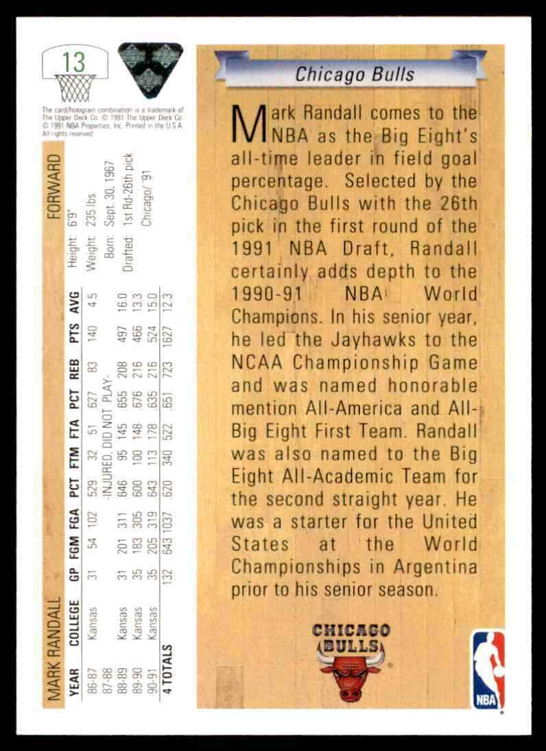 thumbnail 332 - 1991-92 Upper Deck Basketball NBA Choose Your Player -Real Pics Rookie Star (B)