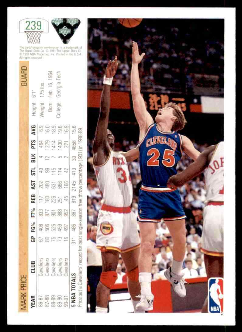 thumbnail 330 - 1991-92 Upper Deck Basketball NBA Choose Your Player -Real Pics Rookie Star (B)
