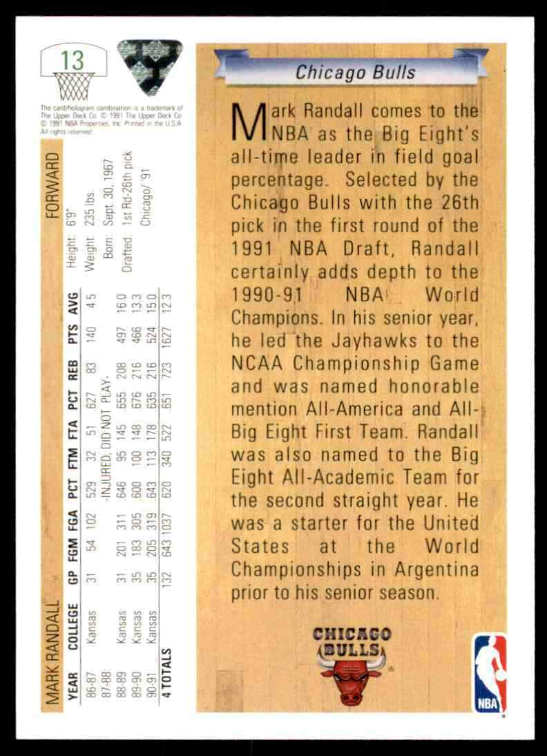 thumbnail 334 - 1991-92 Upper Deck Basketball NBA Choose Your Player -Real Pics Rookie Star (B)
