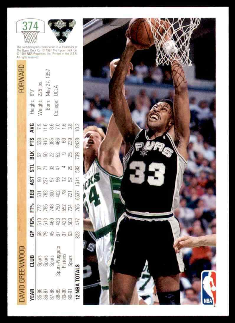 thumbnail 130 - 1991-92 Upper Deck Basketball NBA Choose Your Player -Real Pics Rookie Star (B)
