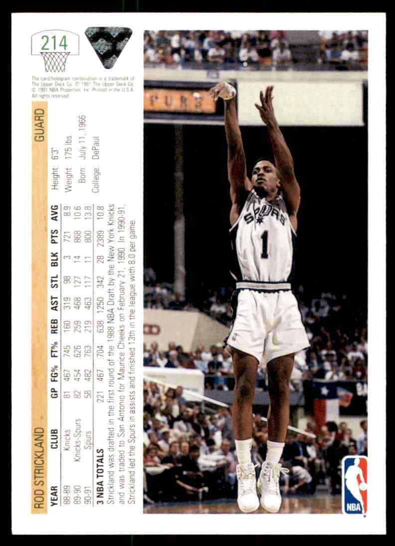 thumbnail 392 - 1991-92 Upper Deck Basketball NBA Choose Your Player -Real Pics Rookie Star (B)