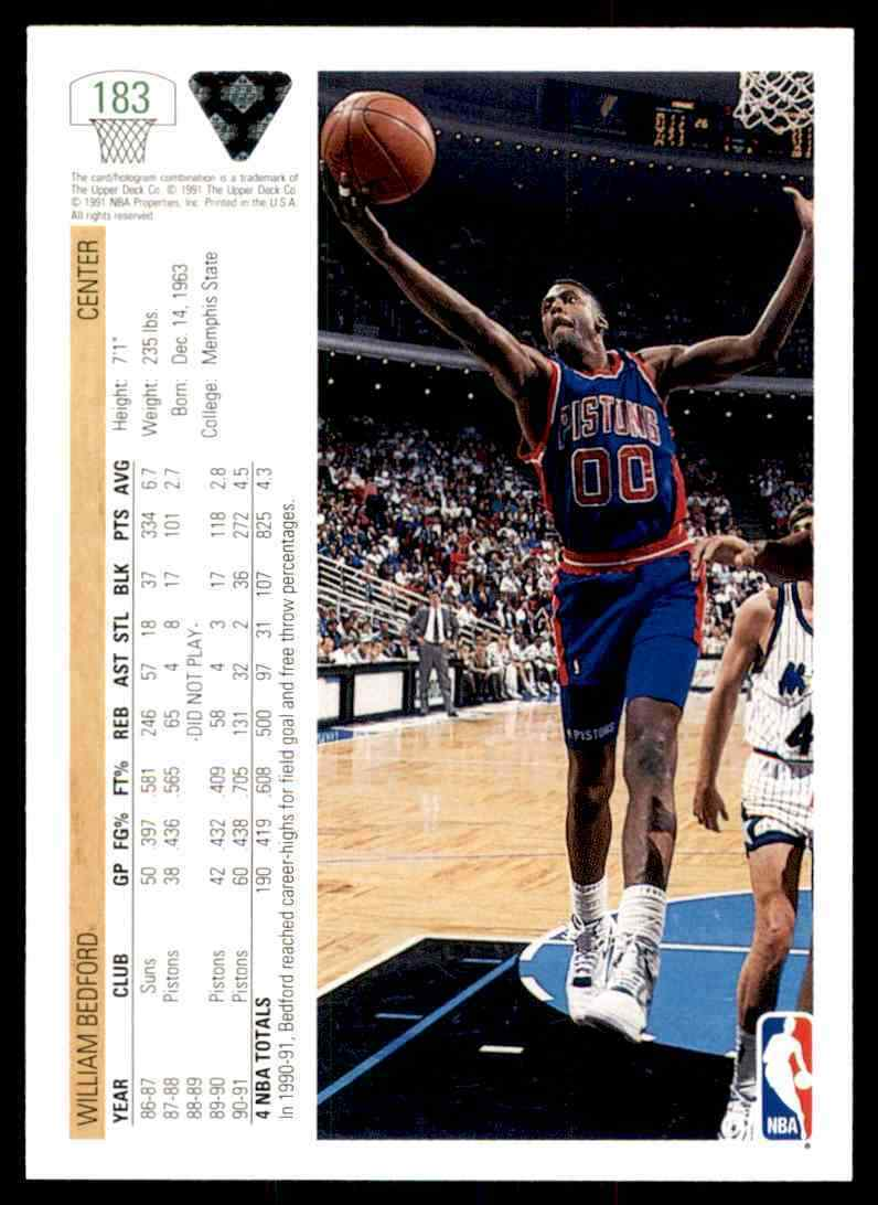 thumbnail 496 - 1991-92 Upper Deck Basketball NBA Choose Your Player -Real Pics Rookie Star (B)