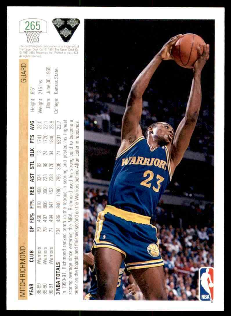 thumbnail 354 - 1991-92 Upper Deck Basketball NBA Choose Your Player -Real Pics Rookie Star (B)