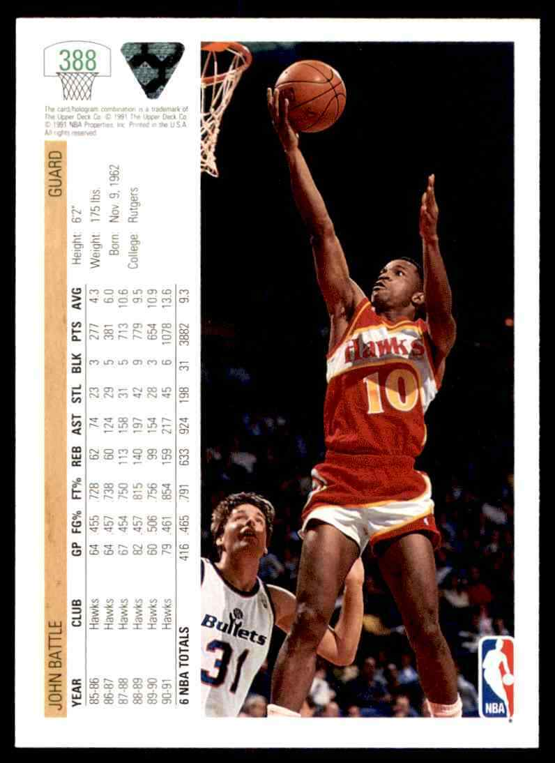 thumbnail 246 - 1991-92 Upper Deck Basketball NBA Choose Your Player -Real Pics Rookie Star (B)