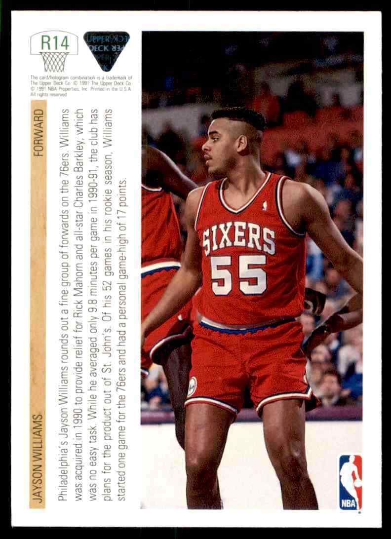 thumbnail 216 - 1991-92 Upper Deck Basketball NBA Choose Your Player -Real Pics Rookie Star (B)