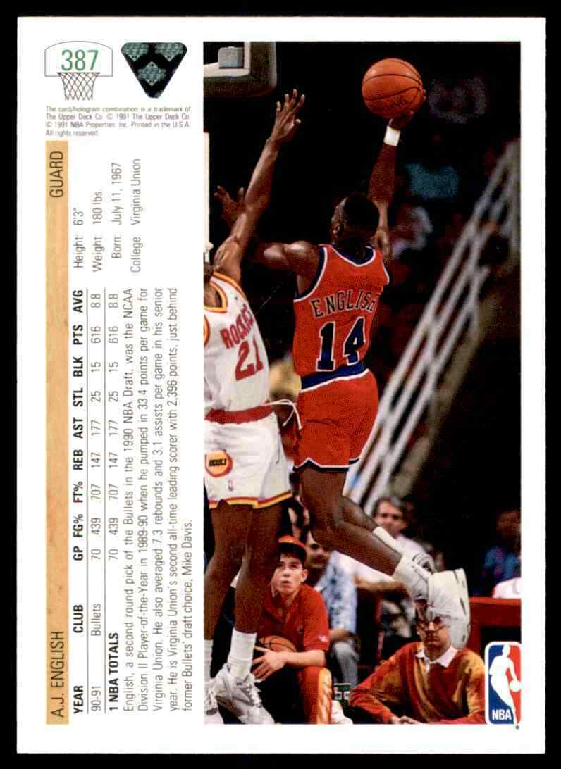 thumbnail 4 - 1991-92 Upper Deck Basketball NBA Choose Your Player -Real Pics Rookie Star (B)